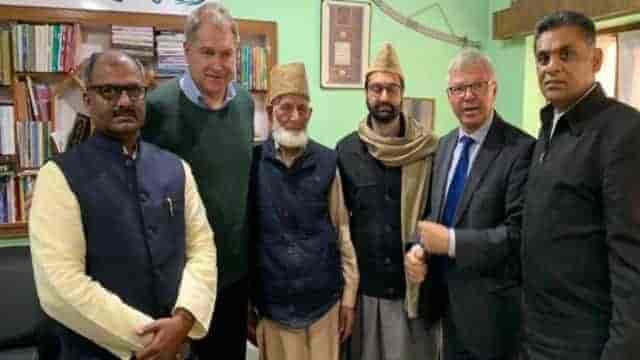 Kashmiri leaders, norwegian former prime minister, kashmir conflict