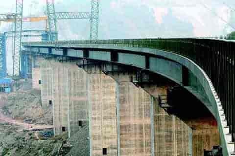 kashmir rail link, chenab valley bridge,