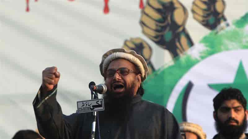 Punjab CTD registers cases against Hafiz Saeed, three others