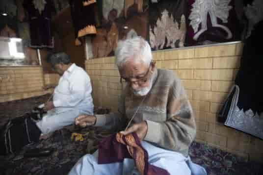 Tilla, Kashmir Tilla, Handicraft tilla work