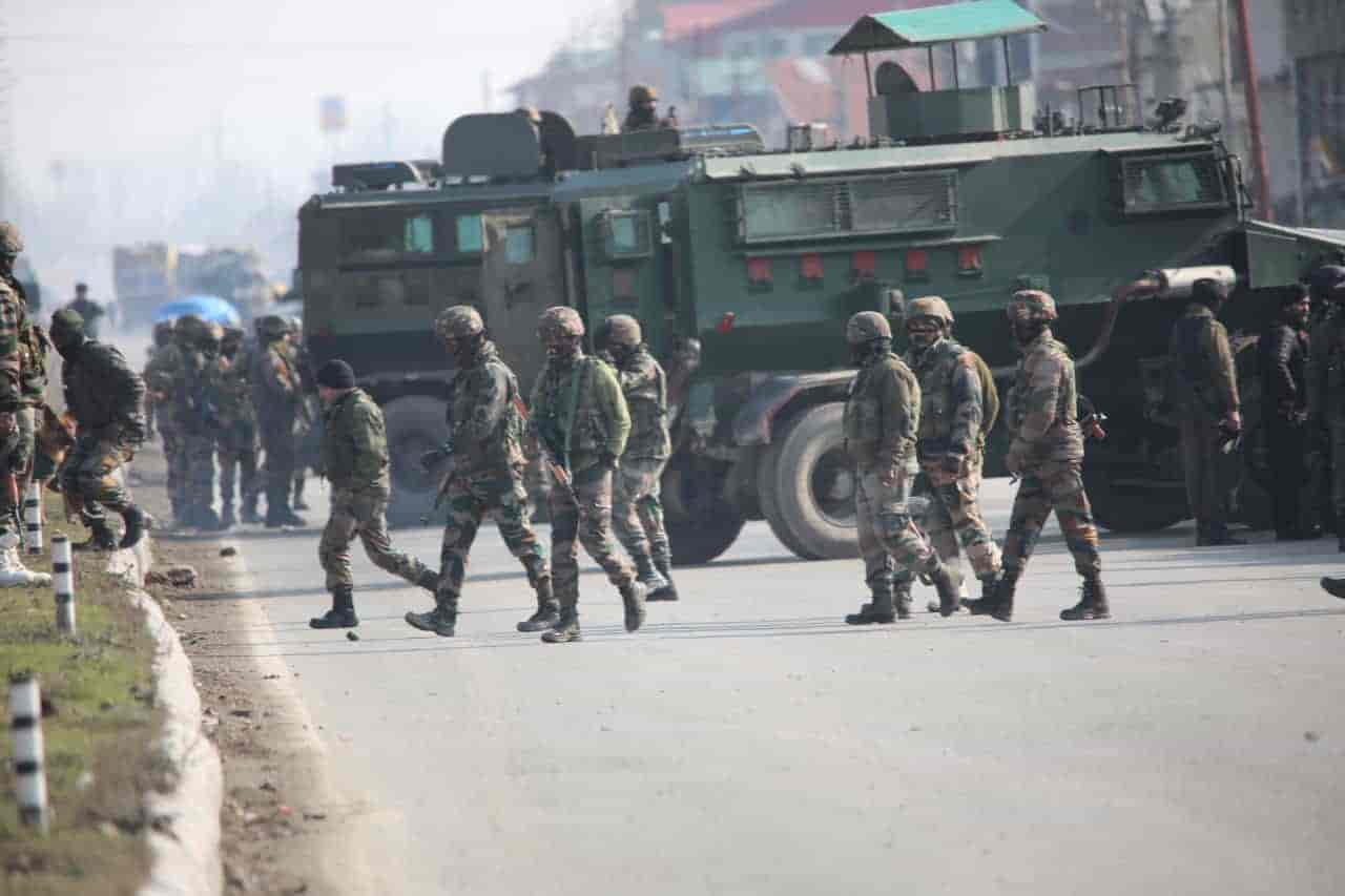 Three terrorists killed in encounter in J&K`s Srinagar Lawyapora area