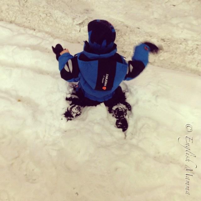 An English Mamma in Stockholm: enjoying the snow