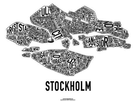An English Mamma in Stockholm: localgraphics stockholm karta map