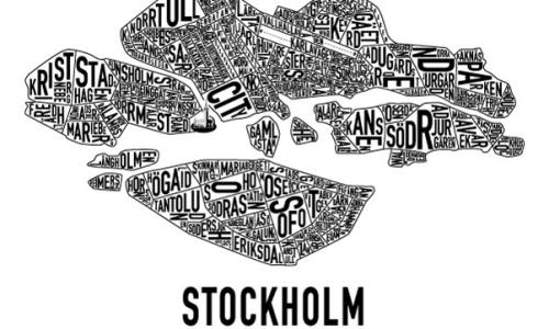The Kat Edit stockholm map