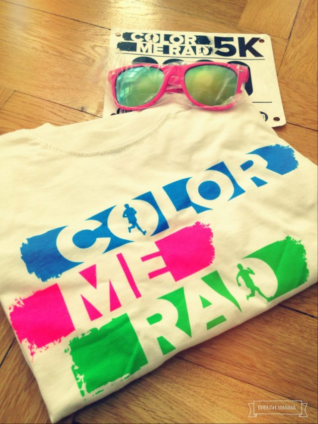 An English Mamma in Stockholm: stockholm colour run color me rad 5km starter pack