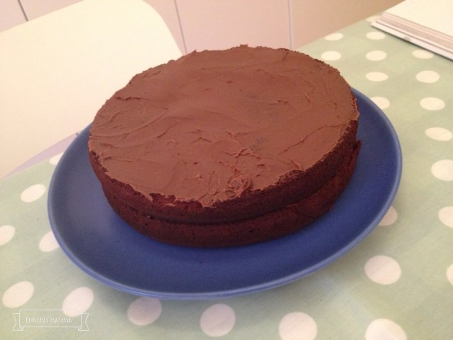 An English Mamma in Stockholm: baking paleo birthday mexican chocolate cake