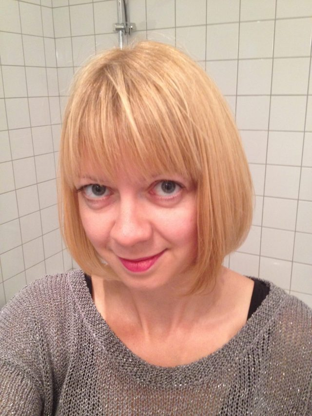 An English Mamma in Stockholm: haircut fringe