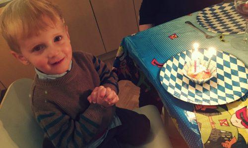 The Kat Edit 3rd third birthday celebration cake