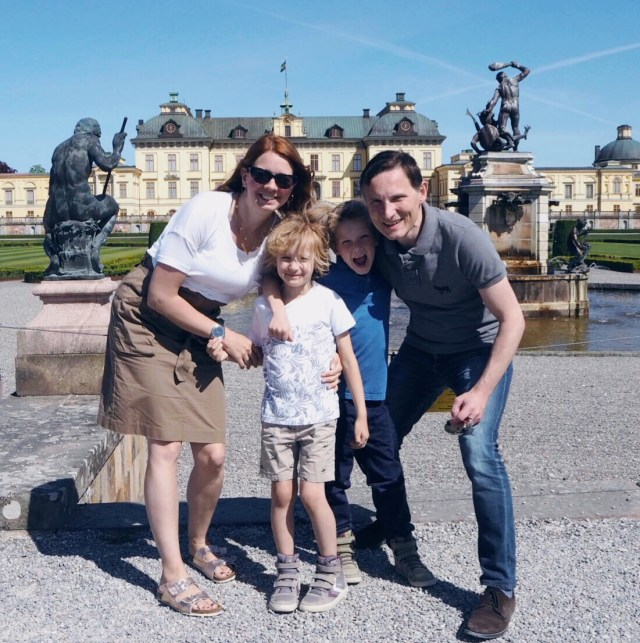 The Kat Edit: tourist in your own town drottningholm slott castle family portrait