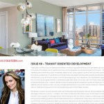 Issue 69 - Transit Oriented Development