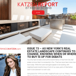 Issue 73 - As New York's Real Estate Landscape Continues to Change, Knowing When or Where to Buy is Up for Debate