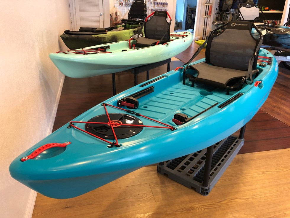 Kayak Hub carries Crescent and Vibe kayaks.