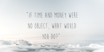 453f4b343d -if time and money were no object