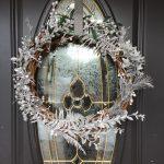 DIY Dollar Store Winter Wreath