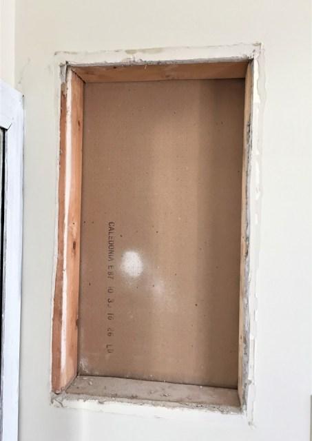 medicine cabinet removal