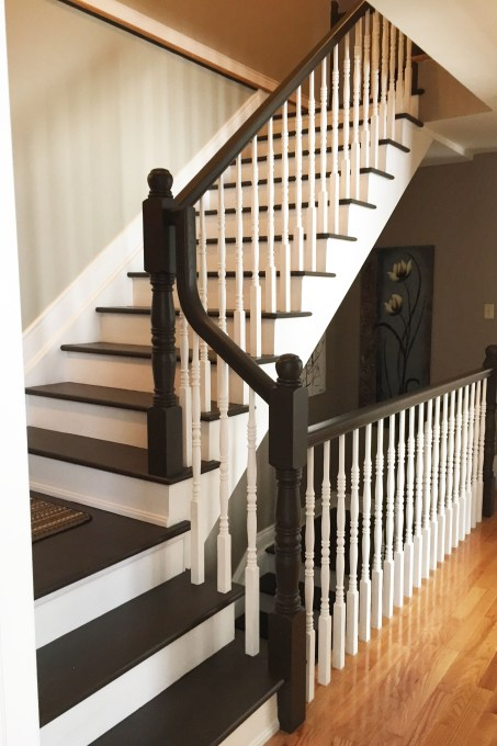 Painted Maple Staircase