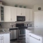 My White Painted Kitchen