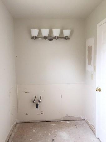 boys bathroom renovation, old bathroom, old toilet, old sink, bathroom demo