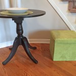 Entry Way Table Makeover – Duncan Phyfe Table Transformation