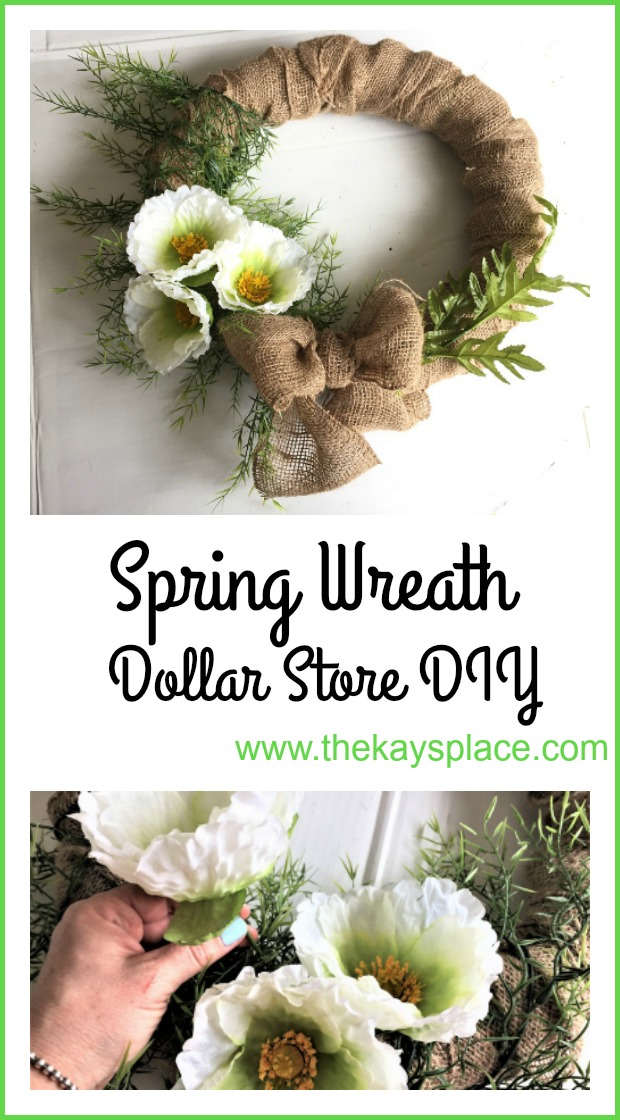spring wreath, spring porch, dollar store diy, dollar store wreath, pool noodle wreath