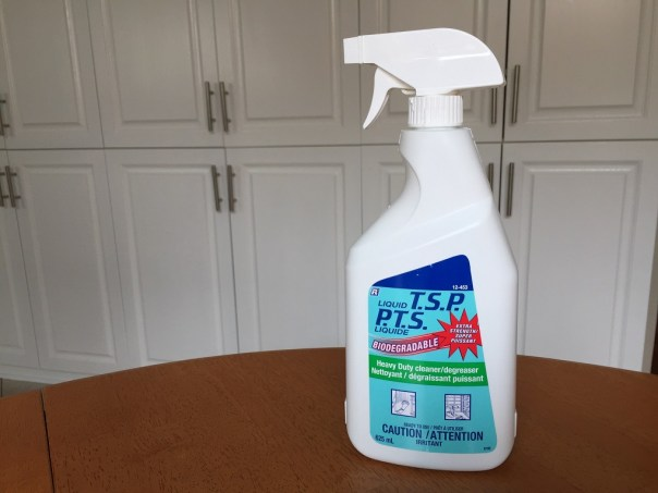 cleaning with tsp