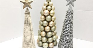Christmas Cone Trees – My Christmas Dining Room