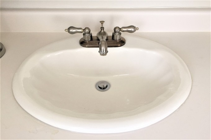 old shell sink
