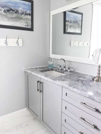 new vanity and sink