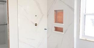 Master Bathroom Renovation Progress