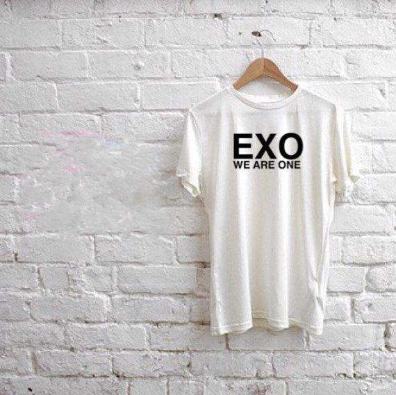 T-Shirts EXO We Are One Unisex T-Shirt - The Kdom