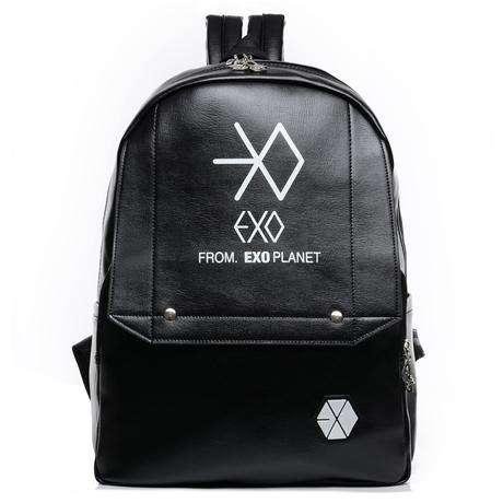Backpacks EXO LEATHER BACKPACK - The Kdom