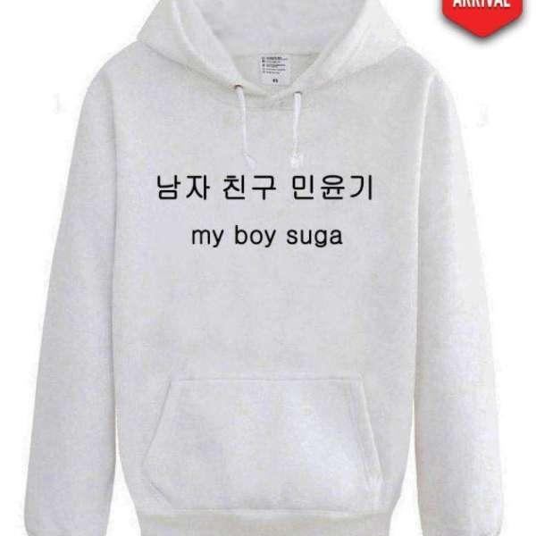 Hoodies & Sweatshirts BTS Korean My Boy Hoodie - The Kdom
