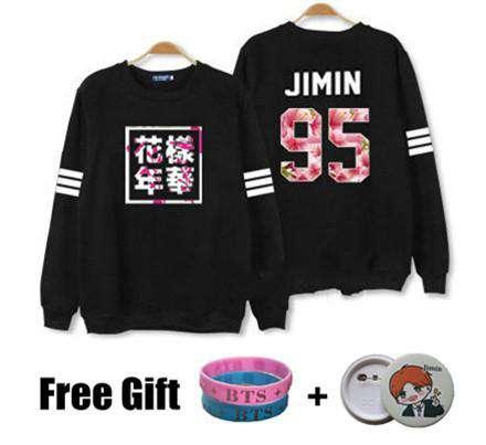 Sweaters Kpop Flower Sweatshirt - The Kdom