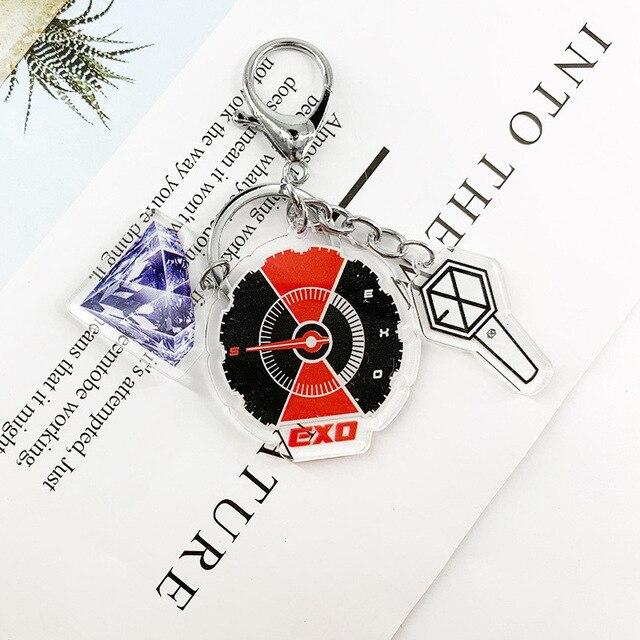 Chaveiros EXO and KPOP Acrylic Keychains - The Kdom