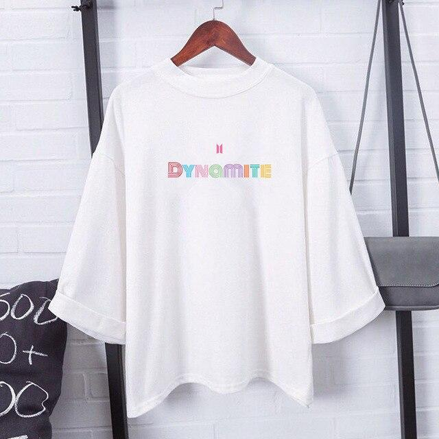 "Camisetas ""DYNAMITE"" Loose T-Shirts - The Kdom"