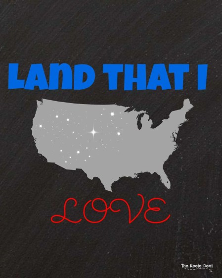 Free Patriotic Printable - Land that I love