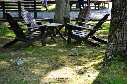 Bushkill Falls - Chairs