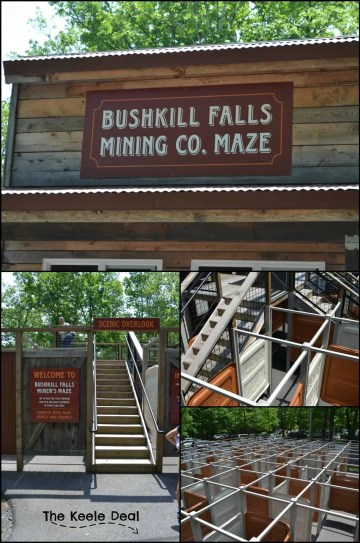 Bushkill Falls Maze