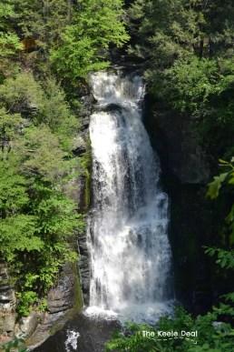 Bushkill Falls - Top of Main Falls