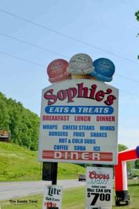 Sophie's - Weekend Exploring in the Poconos Mountains - Are you planing a trip to the Pocono Mountains or dreaming of a future vacation? Here is what we did on our weekend in the Poconos, maybe you can add some of these ideas to your vacation itinerary.