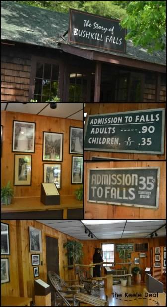 The story of bushkill falls