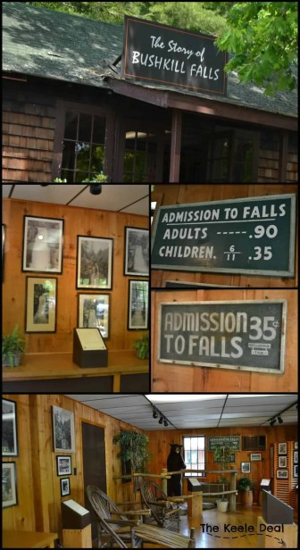 The story of bushkill falls