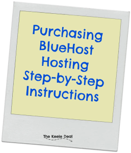 Purchasing hosting with BlueHost is really easy but deciding on which hosting package to purchase can be confusing. Here is a step- by- step guide to purchasing hosting with BlueHost.