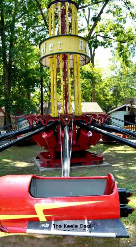 Knoebels is America's Largest Free - Admission Amusement Park. Located in Elysburg, Pennsylvania this amusement park is a great family activity. Rocket Jet Ride at Knoebels