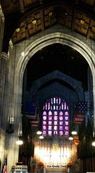 The last stop on our tour of Valley Forge was the Washington Memorial Chapel. The chapel was my favorite stop, the building is privately owned, but open for visitors. The interior of the building is beautiful.