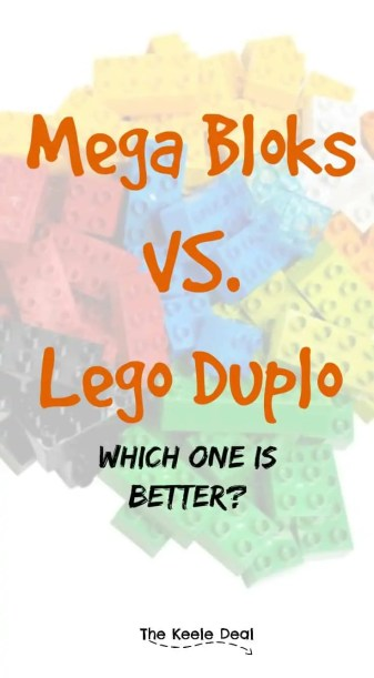 I'm sure you have seen both Mega Bloks and Lego Duplo both online and in stores. Have you ever wondered what the differences are between the two products? Which one is better?
