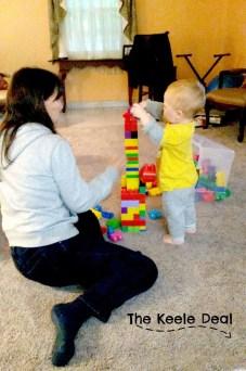 Building Blocks with Grandma