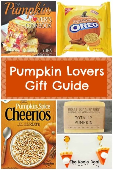 Pumpkin, pumpkin pumpkin! It's finally October the month that is known for all things pumpkin. Checkout the Pumpkin Lover's Gift Guide.