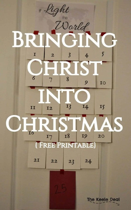 We are really excited to start our own traditions and NOT travel over the holiday. As Jared and I were talking about what traditions we want to start we both really want to make sure we bring Christ into Christmas. #Christmas #freeprintable #ChristmasAdvent #Advent #ChristmasActivities