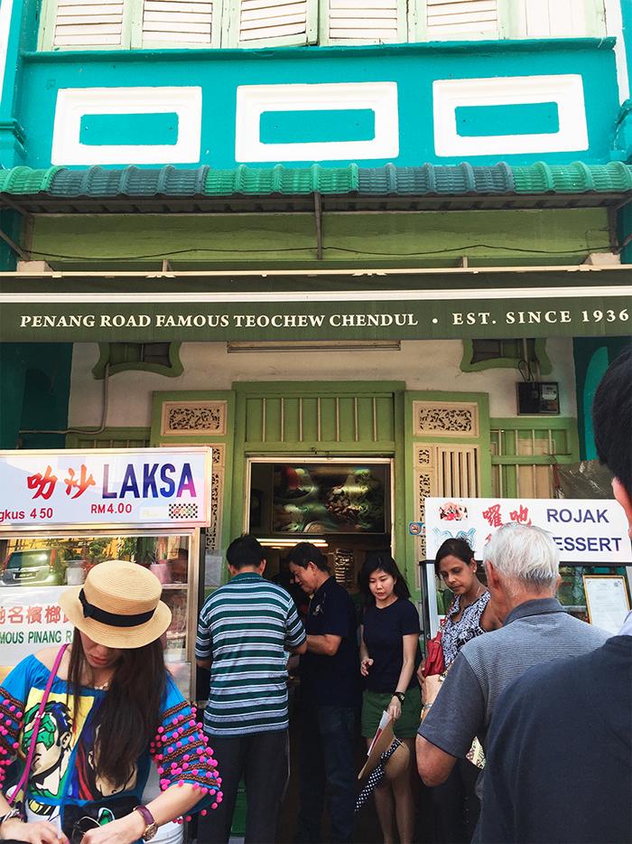 Penang Road Famous Chendul